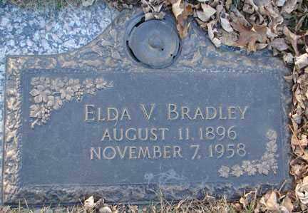 BRADLEY, ELDA V. - Minnehaha County, South Dakota   ELDA V. BRADLEY - South Dakota Gravestone Photos