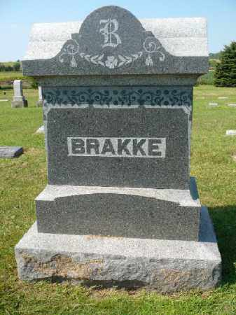 BRAKKE, FAMILY STONE - Minnehaha County, South Dakota | FAMILY STONE BRAKKE - South Dakota Gravestone Photos