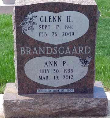 WRIGHT BRANDSGAARD, ANN PATRICIA - Minnehaha County, South Dakota   ANN PATRICIA WRIGHT BRANDSGAARD - South Dakota Gravestone Photos