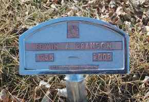BRANSON, EDWIN A. - Minnehaha County, South Dakota | EDWIN A. BRANSON - South Dakota Gravestone Photos