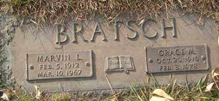 BRATSCH, MARVIN L. - Minnehaha County, South Dakota | MARVIN L. BRATSCH - South Dakota Gravestone Photos
