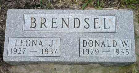 BRENDSEL, LEONA J. - Minnehaha County, South Dakota | LEONA J. BRENDSEL - South Dakota Gravestone Photos