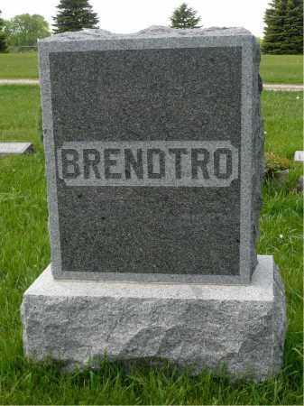 BRENDTRO, FAMILY MARKER - Minnehaha County, South Dakota   FAMILY MARKER BRENDTRO - South Dakota Gravestone Photos