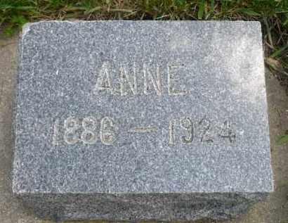 BRENDTRO, ANNE - Minnehaha County, South Dakota | ANNE BRENDTRO - South Dakota Gravestone Photos