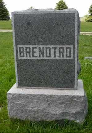BRENDTRO, FAMILY MARKER - Minnehaha County, South Dakota | FAMILY MARKER BRENDTRO - South Dakota Gravestone Photos