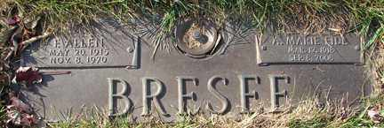 EIDE BRESEE, M. MARIE - Minnehaha County, South Dakota | M. MARIE EIDE BRESEE - South Dakota Gravestone Photos
