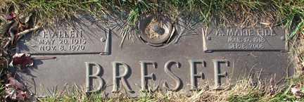 BRESEE, E. ALLEN - Minnehaha County, South Dakota | E. ALLEN BRESEE - South Dakota Gravestone Photos