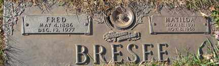 BRESEE, FRED - Minnehaha County, South Dakota | FRED BRESEE - South Dakota Gravestone Photos