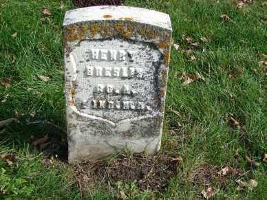BRESLIN, HENRY - Minnehaha County, South Dakota   HENRY BRESLIN - South Dakota Gravestone Photos