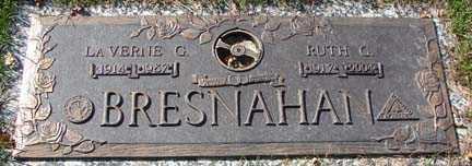 BRESNAHAN, LA VERNE G. - Minnehaha County, South Dakota   LA VERNE G. BRESNAHAN - South Dakota Gravestone Photos