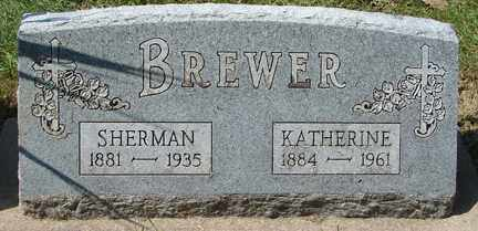 BREWER, KATHERINE - Minnehaha County, South Dakota | KATHERINE BREWER - South Dakota Gravestone Photos