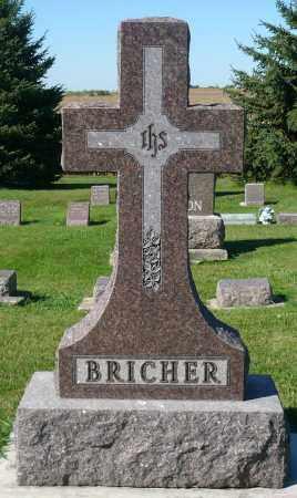 BRICHER, FAMILY MARKER - Minnehaha County, South Dakota | FAMILY MARKER BRICHER - South Dakota Gravestone Photos