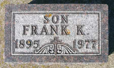 BRICHER, FRANK K. - Minnehaha County, South Dakota   FRANK K. BRICHER - South Dakota Gravestone Photos