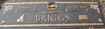 BRIGGS, RUSSELL EUGENE - Minnehaha County, South Dakota | RUSSELL EUGENE BRIGGS - South Dakota Gravestone Photos