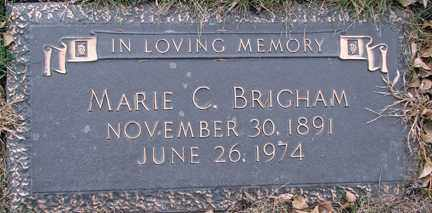 BRIGHAM, MARIE C. - Minnehaha County, South Dakota | MARIE C. BRIGHAM - South Dakota Gravestone Photos