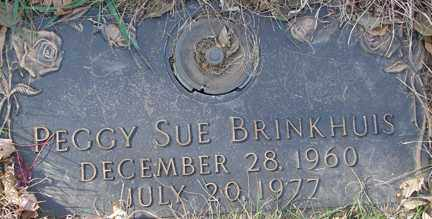 BRINKHUIS, PEGGY SUE - Minnehaha County, South Dakota | PEGGY SUE BRINKHUIS - South Dakota Gravestone Photos