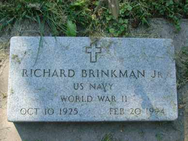 BRINKMAN, RICHARD  JR. - Minnehaha County, South Dakota | RICHARD  JR. BRINKMAN - South Dakota Gravestone Photos