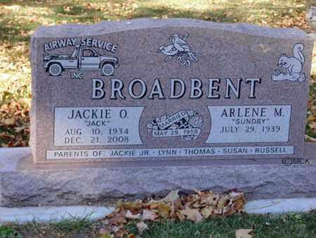 BROADBENT, JACKIE O. - Minnehaha County, South Dakota | JACKIE O. BROADBENT - South Dakota Gravestone Photos