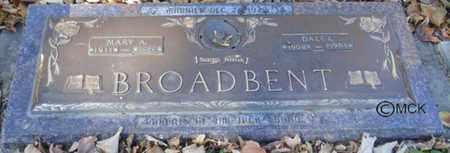 BROADBENT, DALE - Minnehaha County, South Dakota | DALE BROADBENT - South Dakota Gravestone Photos
