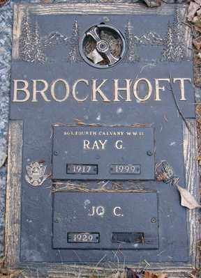 BROCKHOFT, RAY G. - Minnehaha County, South Dakota | RAY G. BROCKHOFT - South Dakota Gravestone Photos