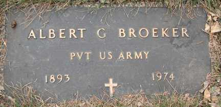 BROEKER, ALBERT G. (MILITARY) - Minnehaha County, South Dakota | ALBERT G. (MILITARY) BROEKER - South Dakota Gravestone Photos