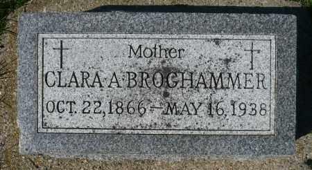 SCHISSEL BROGHAMMER, CLARA A. - Minnehaha County, South Dakota   CLARA A. SCHISSEL BROGHAMMER - South Dakota Gravestone Photos