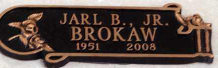 BROKAW, JARL B. - Minnehaha County, South Dakota | JARL B. BROKAW - South Dakota Gravestone Photos