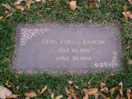 POWERS BRONSON, ETHEL - Minnehaha County, South Dakota | ETHEL POWERS BRONSON - South Dakota Gravestone Photos