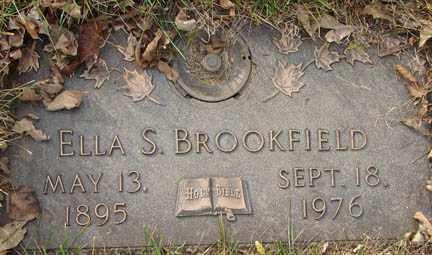BROOKFIELD, ELLA S. - Minnehaha County, South Dakota | ELLA S. BROOKFIELD - South Dakota Gravestone Photos