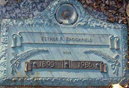 BROOKFIELD, ESTHER R. - Minnehaha County, South Dakota | ESTHER R. BROOKFIELD - South Dakota Gravestone Photos