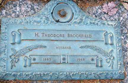 BROOKFIELD, H. THEODORE - Minnehaha County, South Dakota | H. THEODORE BROOKFIELD - South Dakota Gravestone Photos