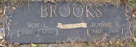 BROOKS, JEANNE E, - Minnehaha County, South Dakota | JEANNE E, BROOKS - South Dakota Gravestone Photos