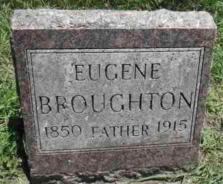 BROUGHTON, EUGENE - Minnehaha County, South Dakota | EUGENE BROUGHTON - South Dakota Gravestone Photos