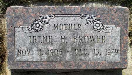 BROWER, IRENE H. - Minnehaha County, South Dakota | IRENE H. BROWER - South Dakota Gravestone Photos