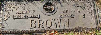 BROWN, ALLEN H. - Minnehaha County, South Dakota | ALLEN H. BROWN - South Dakota Gravestone Photos