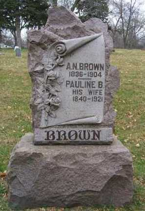 BROWN, PAULINE B. - Minnehaha County, South Dakota | PAULINE B. BROWN - South Dakota Gravestone Photos