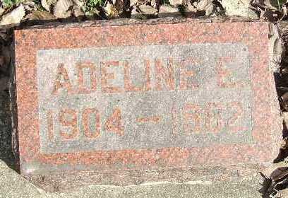 BROWN, ADELINE E. - Minnehaha County, South Dakota   ADELINE E. BROWN - South Dakota Gravestone Photos