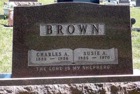 BROWN, CHARLES A. - Minnehaha County, South Dakota | CHARLES A. BROWN - South Dakota Gravestone Photos