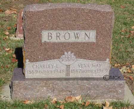 BROWN, CHARLEY L. - Minnehaha County, South Dakota | CHARLEY L. BROWN - South Dakota Gravestone Photos