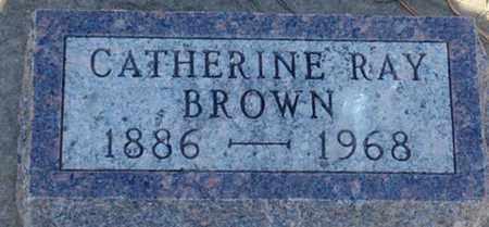 BROWN, CATHERINE - Minnehaha County, South Dakota   CATHERINE BROWN - South Dakota Gravestone Photos
