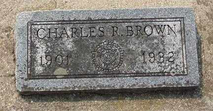 BROWN, CHARLES R. - Minnehaha County, South Dakota | CHARLES R. BROWN - South Dakota Gravestone Photos