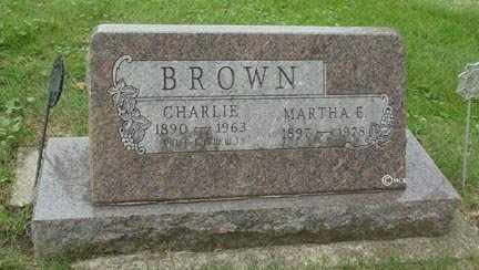 BROWN, CHARLIE - Minnehaha County, South Dakota | CHARLIE BROWN - South Dakota Gravestone Photos