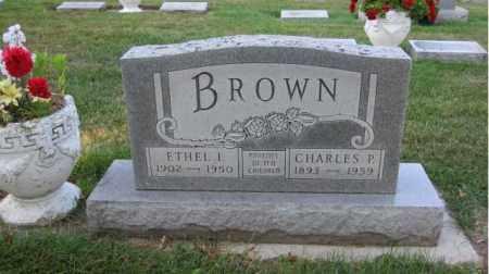 BROWN, CHARLES P. - Minnehaha County, South Dakota | CHARLES P. BROWN - South Dakota Gravestone Photos