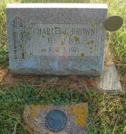 BROWN, CHARLES C. - Minnehaha County, South Dakota | CHARLES C. BROWN - South Dakota Gravestone Photos