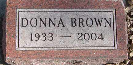BROWN, DONNA - Minnehaha County, South Dakota | DONNA BROWN - South Dakota Gravestone Photos