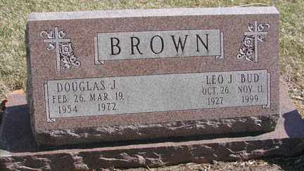 BROWN, DOUGLAS J. - Minnehaha County, South Dakota | DOUGLAS J. BROWN - South Dakota Gravestone Photos
