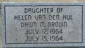 BROWN, DAWN M. - Minnehaha County, South Dakota | DAWN M. BROWN - South Dakota Gravestone Photos