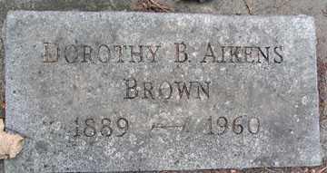 BROWN, DOROTHY G. - Minnehaha County, South Dakota | DOROTHY G. BROWN - South Dakota Gravestone Photos
