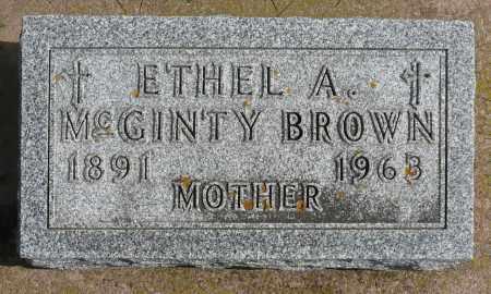 BROWN, ETHEL A. - Minnehaha County, South Dakota   ETHEL A. BROWN - South Dakota Gravestone Photos
