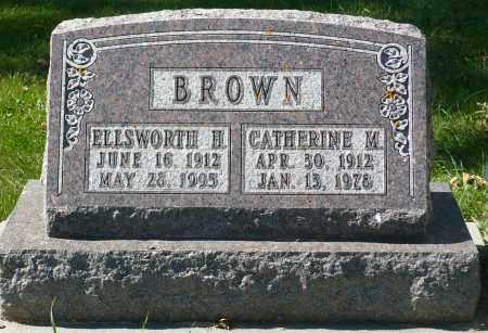 BROWN, CATHERINE MARY - Minnehaha County, South Dakota | CATHERINE MARY BROWN - South Dakota Gravestone Photos